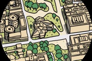 Le Carré des sciences et le parc de Moulon — Quartier de Moulon