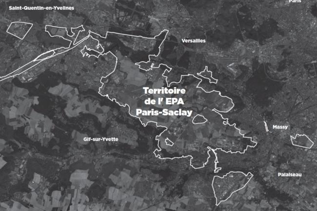 Territoire de l'Opération d'intérêt national Paris-Saclay